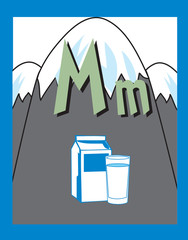 Flash Card Letter M nouns. See whole alphabet in my series!