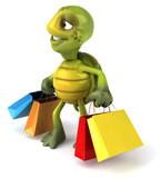 Fototapety Tortue et shopping