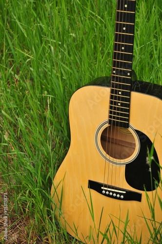 Country Guitar Close-Up