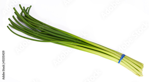 garlic stem