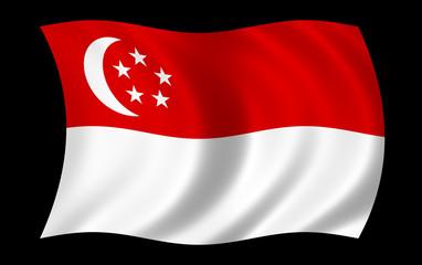 Drapeau de Singapoure