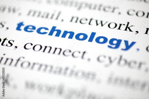 Poster mot technology technologie