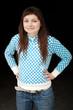 jeune stagiaire fille ado dynamique souriante en réussite