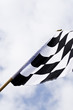 Formula one racing flag