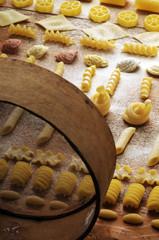 Varietà di pasta fatta in casa