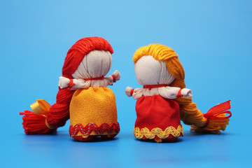 "Dolls ""for luck"", Inspired by traditional Russian rag dolls"