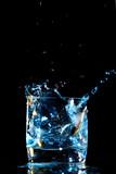 alcohol splash poster