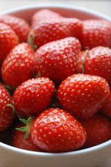 Bol de Fraises - Bowl of Strawberries