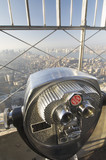 Binocular in Empire State Building poster