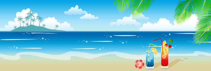 Wonderful summer landscape