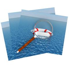3D Life buoy.