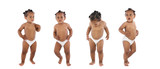 photographic sequence of a hyperactive baby poster