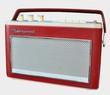 Leinwanddruck Bild - Radio Kofferradio aus den 60ern