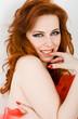 Redhead coquette