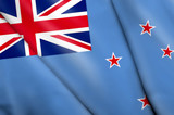 Flag of Ross Dependency (NZ) poster