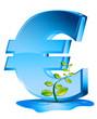 Logo euro bleu Développement Durable