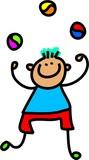 juggling boy poster