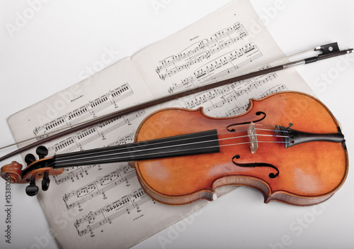 Fototapeten,violine,violine,griffe,noten