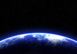 Leinwanddruck Bild - BLUE PLANET