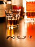 No to Alcohol poster