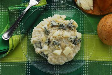 Risotto al gorgonzola e pere - Primi piatti della lombardia