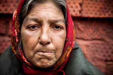 homelessness woman