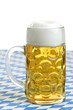 Beer stein at Octoberfest / Maßkrug auf der Wiesn