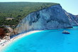 Porto Katsiki Beach on the island of Lefkada, Greece