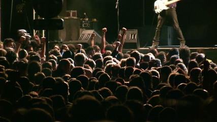 Gente en un concierto