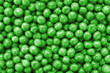 Peas closeup background