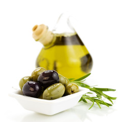 Oliveoil and olives