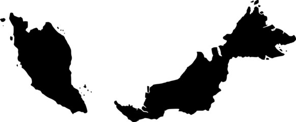vector map of Malaysia