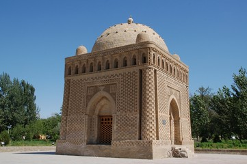 Buchara sightseeing: Samani Mausoleum