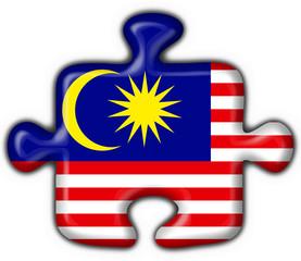 malaysia button flag puzzle shape