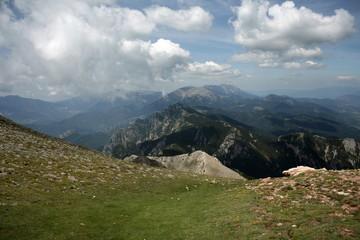 Pyrenees peaks