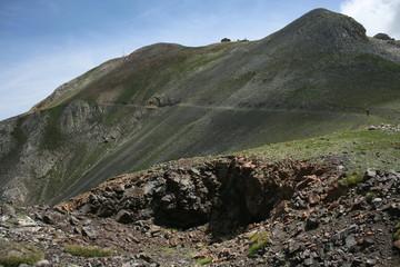 volcanic trekk in Pyrenees