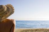 Fototapety chica en la playa