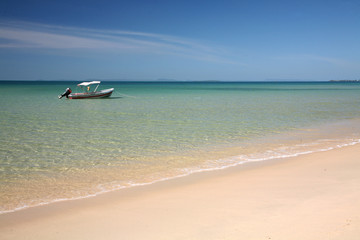 Beach in Sianukville