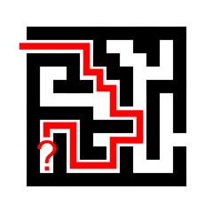 wrong maze