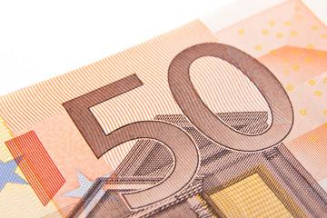 Macro fifty euro