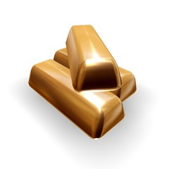 Ingots of gold