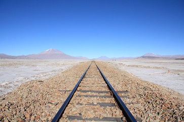 Railroad between Bolivia and Chili