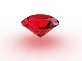 Beautiful Round Ruby Gemstone