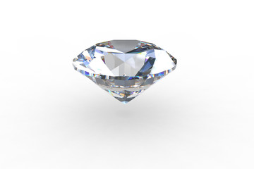 Round Euro Cut  Diamond Gemstone