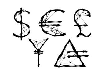 spider money symbols