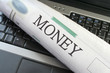 Money section of Newspaper