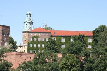 Wawel, Royal Castle in Krakow, Poland
