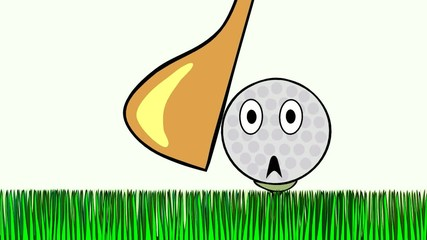 wilful golf ball