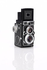 Isolated twin lens reflex camera 2