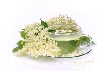 Tee Holunderblüte - tea elder flower 05